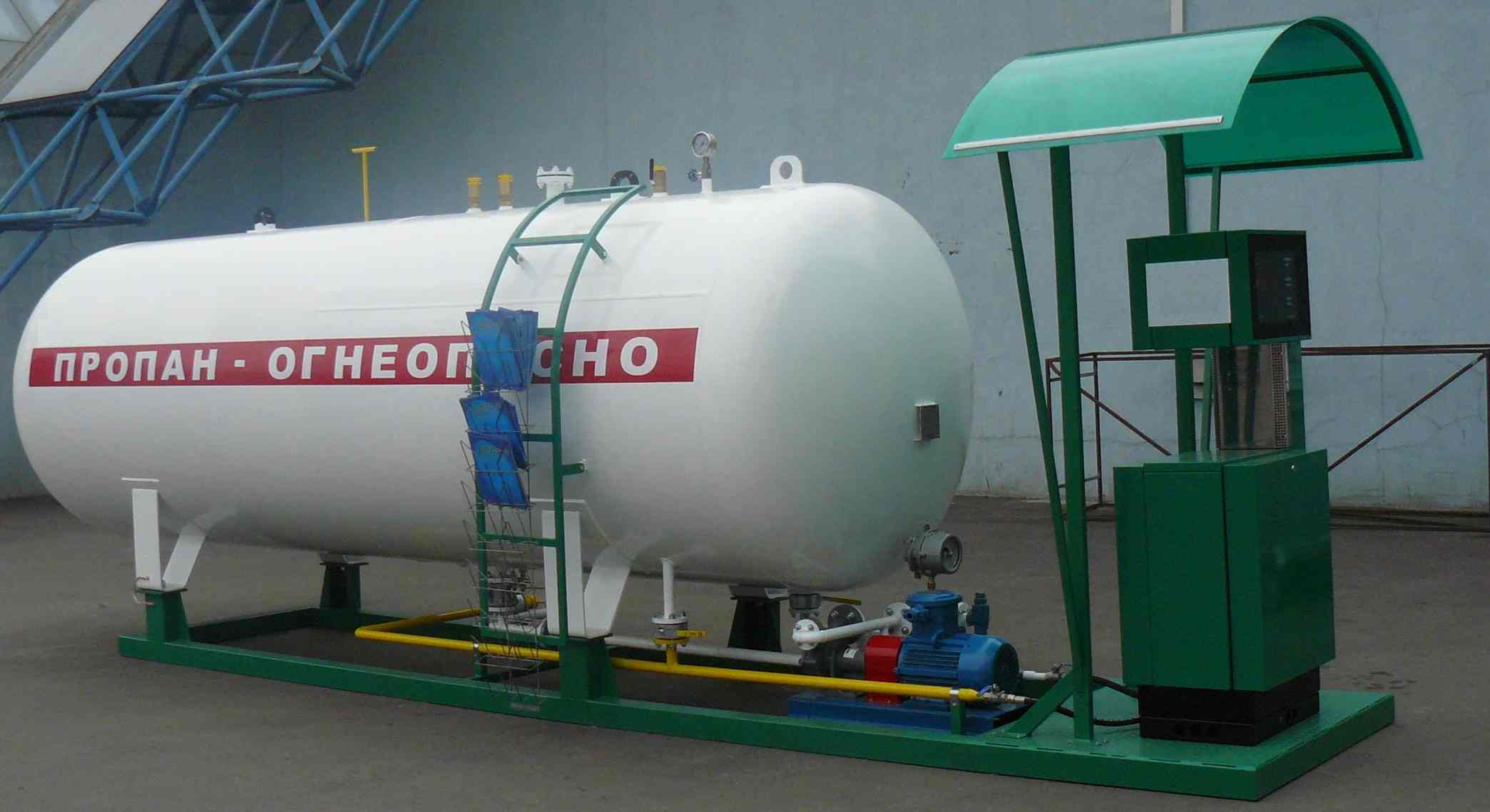 Новый газовый модуль v=5 м. кб