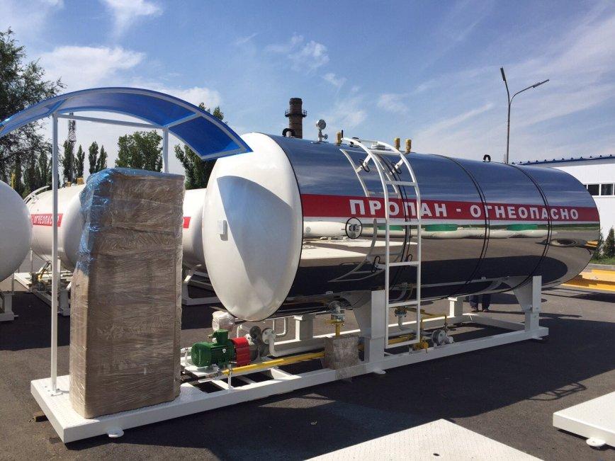 Новый газовый модуль v=8 м. кб