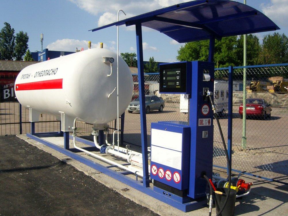 Новый газовый модуль v=10 м. кб
